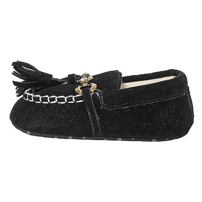 Abdc Kids Infant Black Designer Loafers Boys Shoes