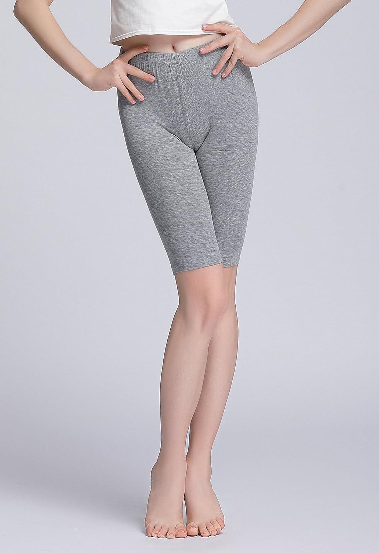 Vinconie Womens Short Leggings Short Slip Under Dress Knee Length Shorts
