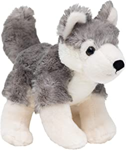Edgewood Toys 10 Inch Wolf Stuffed Animal – Ultra Soft Wolf Plush with Superior Softness for Soothing – Perfect Size for Play, Easy to Carry & Store – Bring This Stuffed Wolf Toy Home to Kids Ages 3+