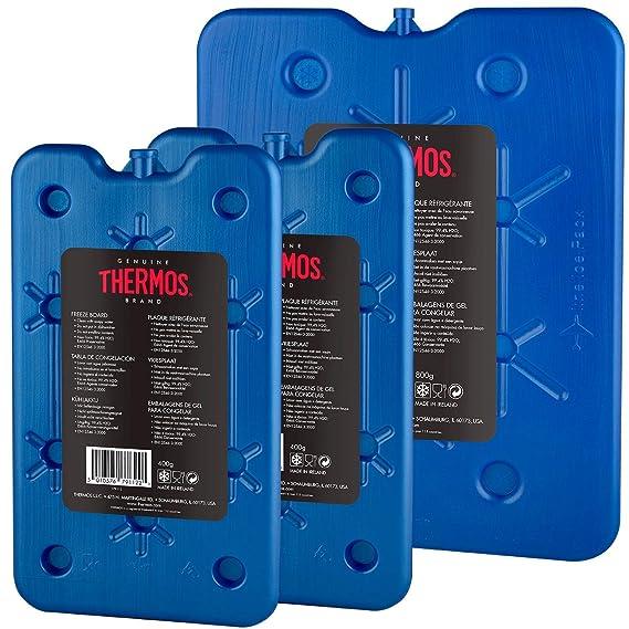 Thermos Bolsas térmicas para congelar, una de 800 g, Dos de 400 g, Juego de 3 Unidades
