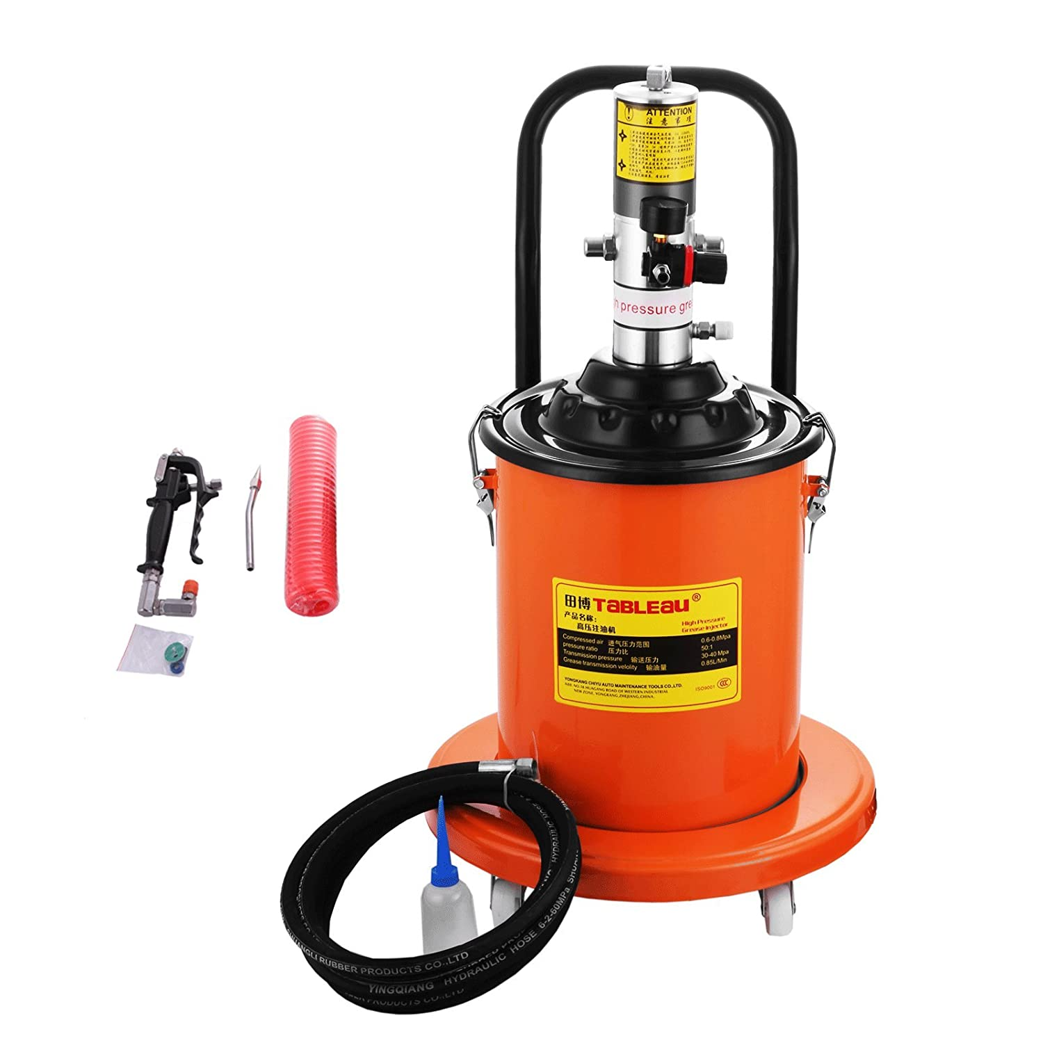 Electric Grease Gun >> Amazon Com Bestequip Portable 20l Grease Pump Set Electric
