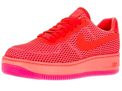 83919bb8436 Nike Womens AF1 Low Upstep BR Total Crimson/Total Crimson Casual Shoe 9  Women US