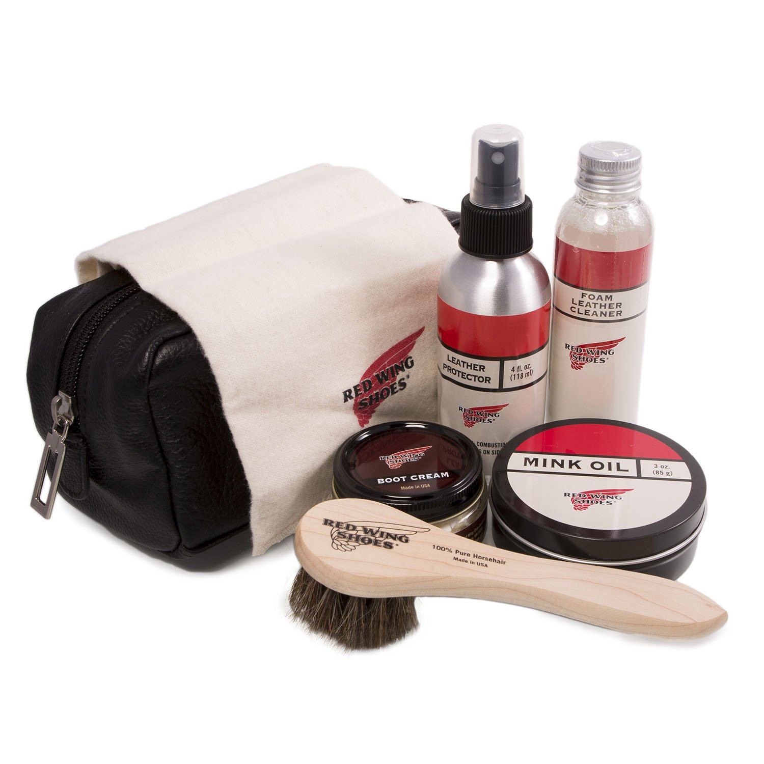 Red Wing Men's Luxury Shoe And Boot Care Kit One Size MultiColor