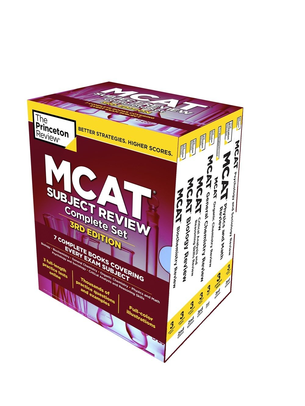 The Princeton Review MCAT Subject Review Complete Box Set, 3rd Edition: 7 Complete Books + 3 Online Practice Tests (Graduate School Test Preparation) by Princeton Review