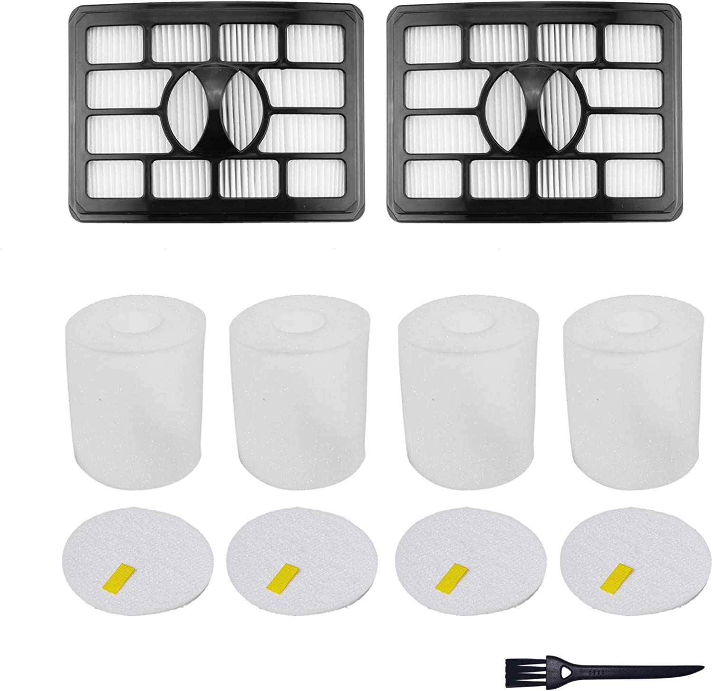 2 HEPA + 4 Foam & Felt Filters Replacement Compatible for Shark Rotator Pro Lift-Away NV500, NV501, NV502, NV503, NV505, NV510, NV520, NV552, UV560, NV642, ZU780, ZU782, ZU785, Part Xff500 Xhf500: Appliances