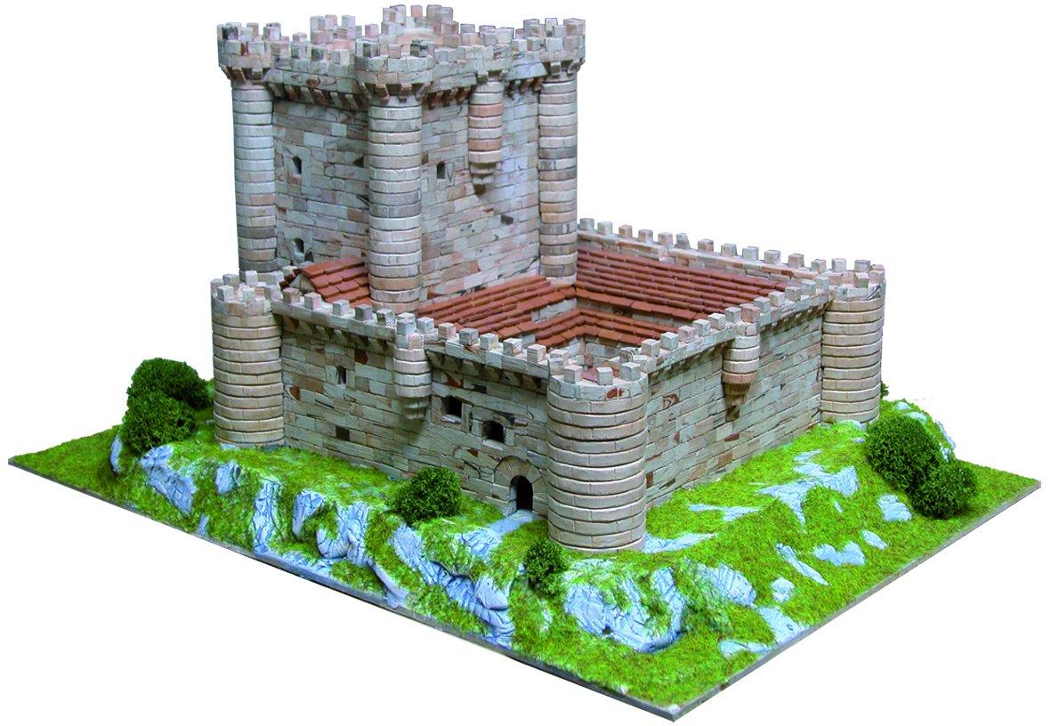 MAQUETA DEL CASTILLO DE LOS VIVERO DE FUENSALDAÑA, 1003. MAQUETAS DE PIEDRA AEDES ARS: Amazon.es: Juguetes y juegos