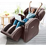 Gliub New 16 Airbags Full Body and Recliner Massage Chairs, Zero Gravity Air Massage Chair, Foot Rollers/Seat Vibration/Lower