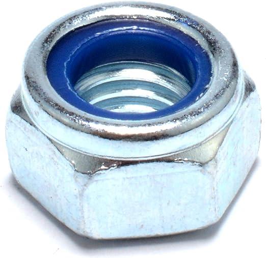 Easyboost 12 Dadi M10 Esagonali Autofrenanti Dado Acciaio Zincato DIN-985 ISO-10511 UNI-7474 Elementi di Fissaggio Alta Qualit/à Bulloneria Modellismo Meccanica