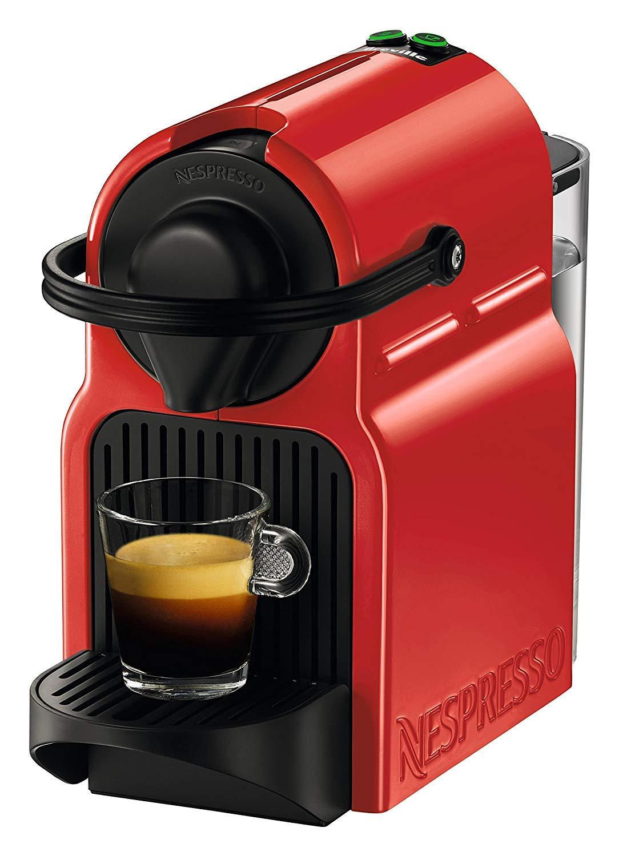 Nespresso by Breville - Inissia Espresso Maker, Red (Renewed)