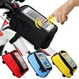 Amazon Price History for:JOY COLORFUL Bicycle Bags Bicycle Front Tube Frame Cycling Packages 4.2,4.8,5.5 inches Touch Screen Mobile Phone Bags Professional Bicycle Accessories