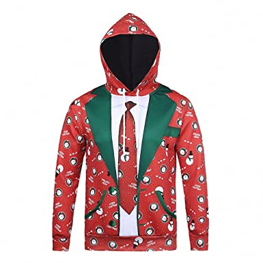 Crochi Fashion Couples Hoodies 3D Christmas Sweatshirt Men/Women Casual Hip Hop Pullover Harajuku Autumn Hoodie Tracksuit at Amazon Womens Clothing store: