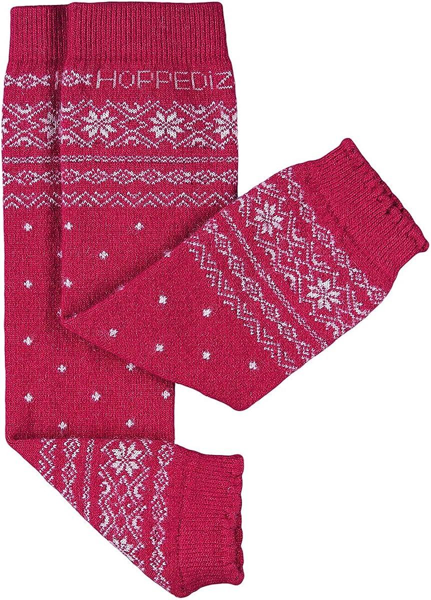 HOPPEDIZ/® Jambi/ères en laine Norv/égien rouge