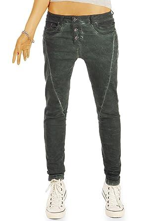 bestyledberlin Damen Slim Fit Jeans,Faded Style Hüftjeans, Ausgeblichene  Jeanshosen j24l  Amazon.de  Bekleidung ac053ae44c