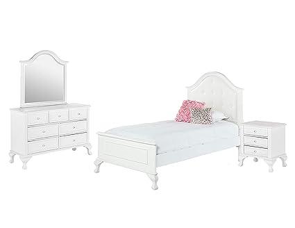 Amazon.com: Picket House Furnishings Jenna 4 Piece Twin Kids ...