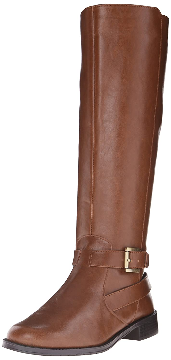 Aerosoles Women's with Pride Riding Boot B0098LHMH6 6.5 B(M) US|Tan