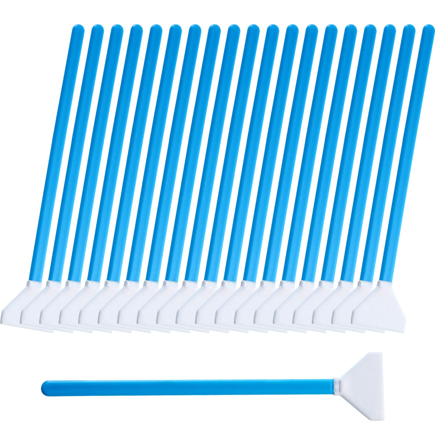 20 Pieces DSLR or SLR Digital Camera Sensor Cleaning Swab Type 3 (DDR-24) Cleaning Kit for APS-C Sensor (CCD/CMOS), 24 mm Wide Cleaning Swabs by Fiada