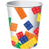 Blocs de construction fête papier 255,1 gram Tasses