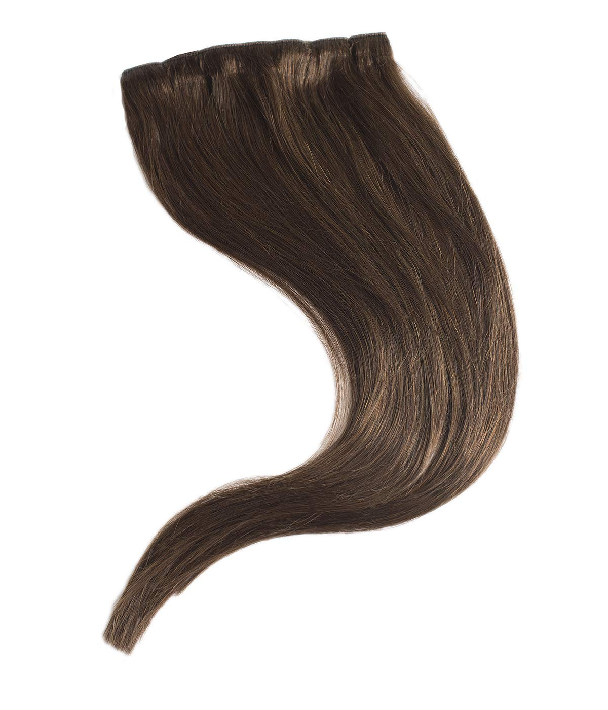 Maxy #4 Chocolate Brown Clip In 100% Human Hair Extensions 20'' inches 170-230grams Remy Triple Wefted High Density Silky Hair (11 pieces set) (230g) by Maxy Extensions