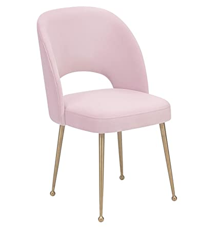 Amazon.com: TOV Furniture TOV D61 Swell Modern Upholstered Dining Room Chair,  Blush: Kitchen U0026 Dining