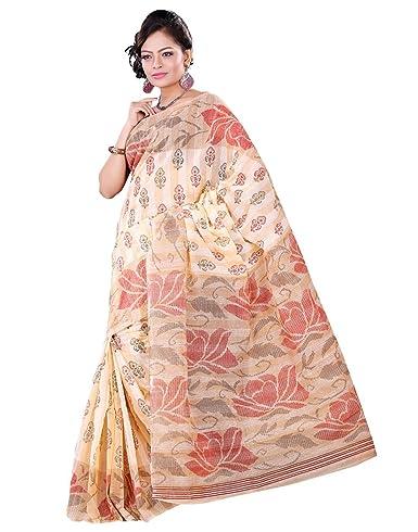 e-VASTRAM Women gadwal printed saree Sarees at amazon