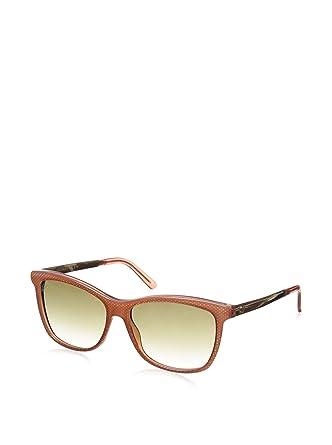Gucci Gafas de Sol GG 3675/S 4WS 56PN (56 mm) Naranja/Beige ...