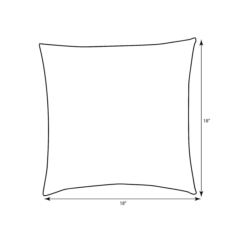 18-Inch Inc 566979 Pillow Perfect Indira Cardinal Throw Pillow