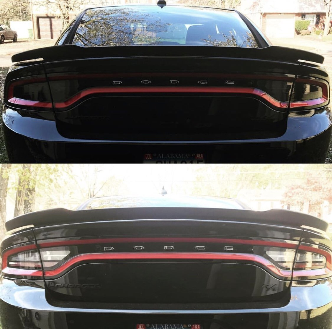 Dodge Charger Tail Lights >> Amazon Com 2015 18 Dodge Charger Tail Light Tint Kit Dark Smoke