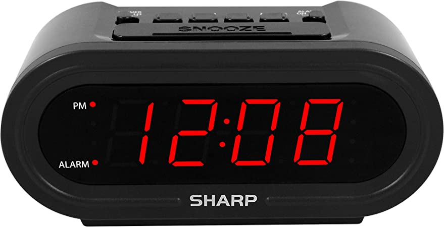 Automatic Smart Clock Digital Alarm with AccuSet Never Needs Setting