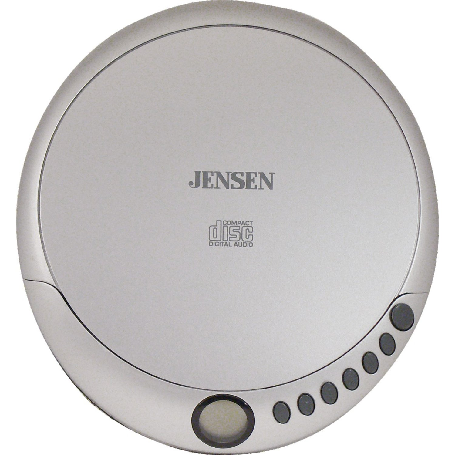 Jensen CD-36 Personal CD Player, Programmable Memory, Stereo Earbuds included, CD-R/RW Compatible
