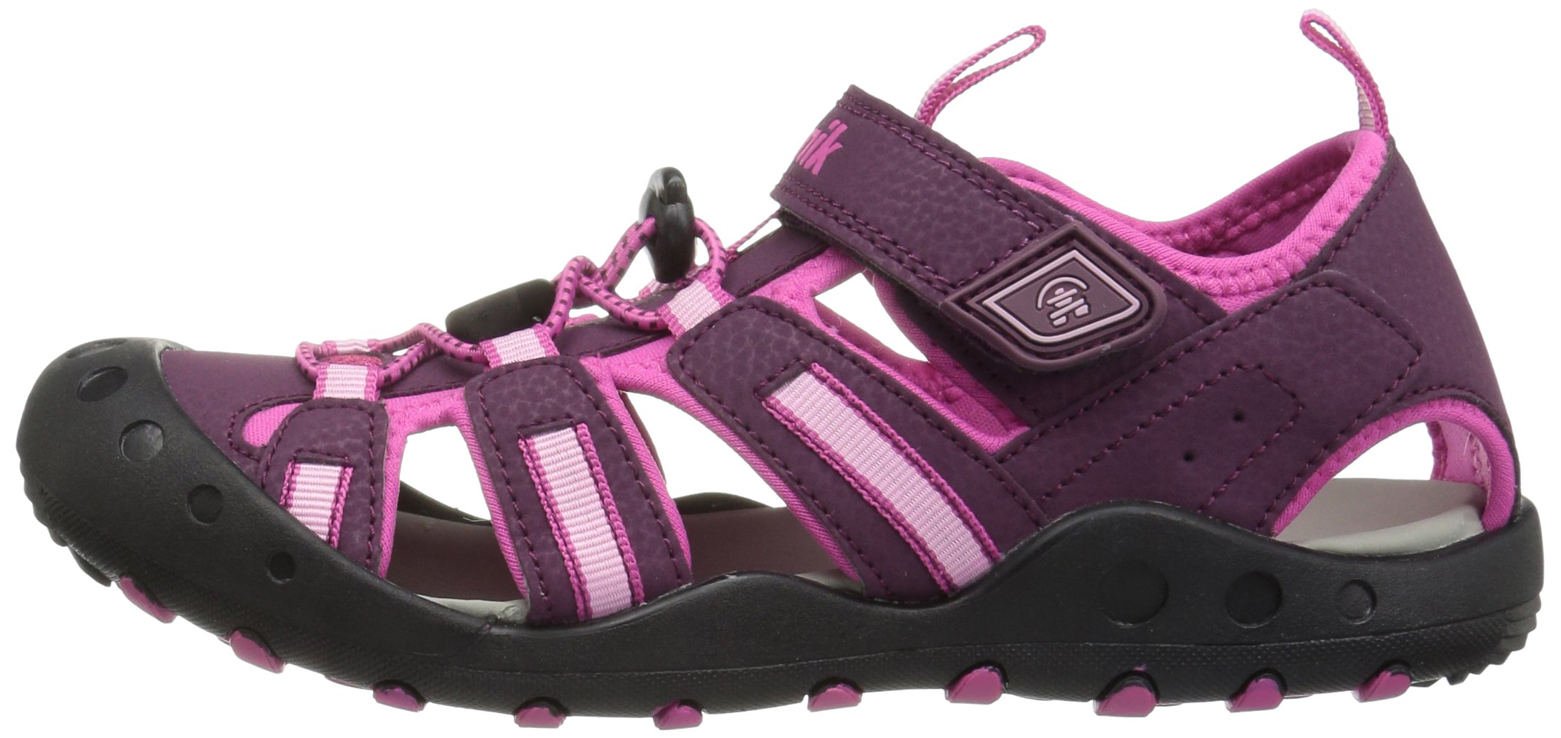 Kamik Toddler Crab Sandals Plum 4 by Kamik (Image #5)