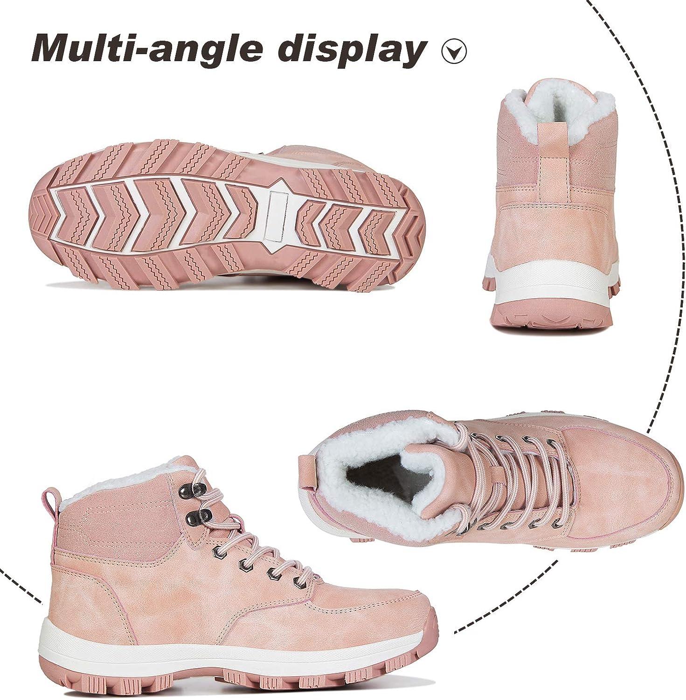 Mabove Bottes dhiver Neige Homme Femme Chaude Doublure Chaussures Montantes de Randonn/ée Trekking Outdoor