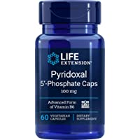 Life Extension Pyridoxal 5-Phosphate 100 Mg Vegetarian Capsules, 60-Count
