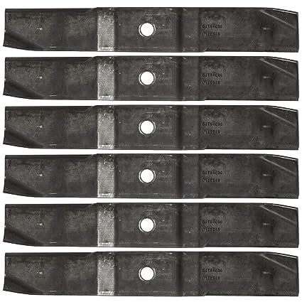 Amazon.com: Ariens 04794200 IKON 6PK - Cuchillas para ...