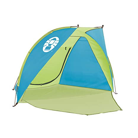pretty nice aac6b 3dd5e Coleman Compact Shade Shelter, Blue/Lime: Amazon.co.uk ...