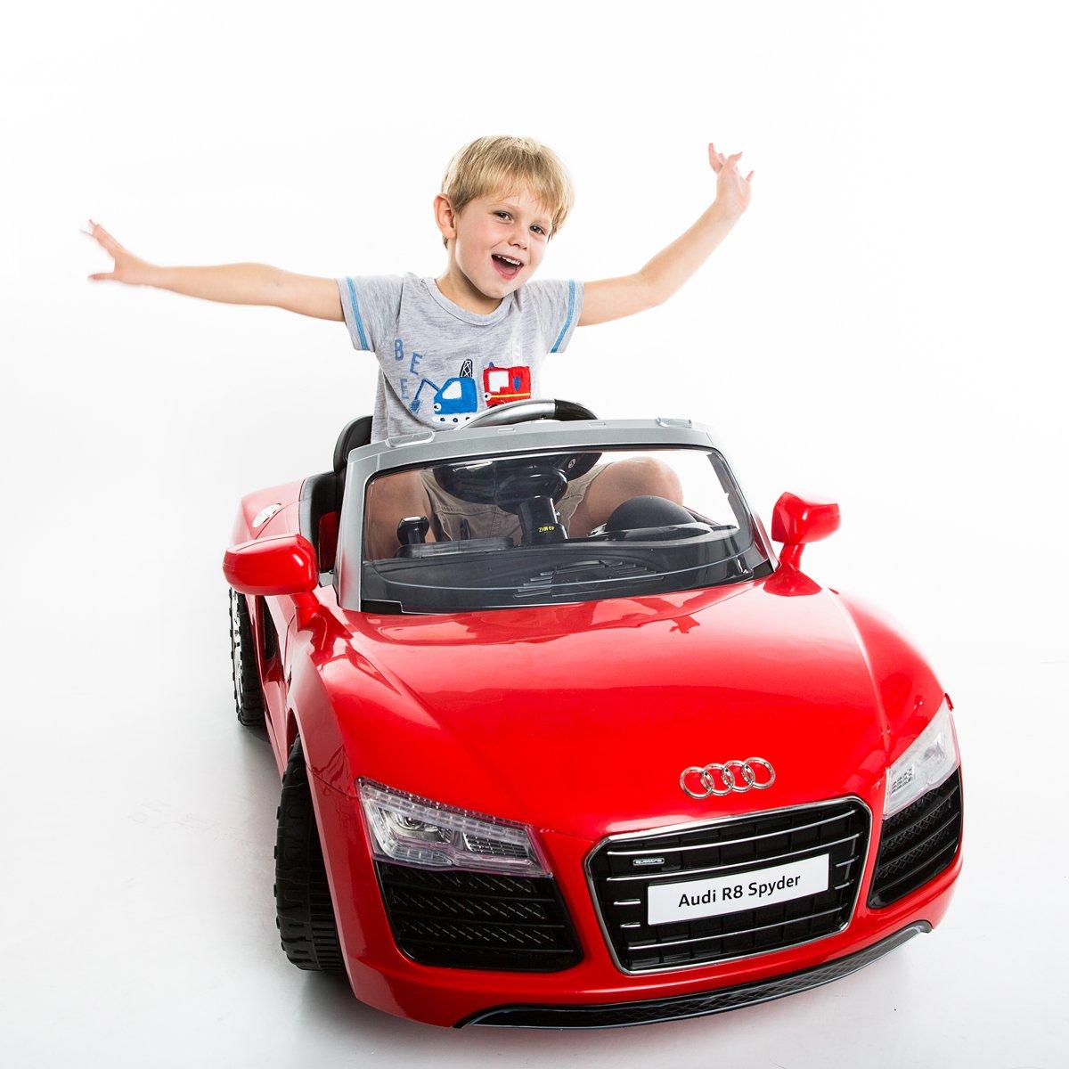 Amazoncom Costzon Audi R Spyder V Electric Kids Ride On Car - Audi r8 6v car