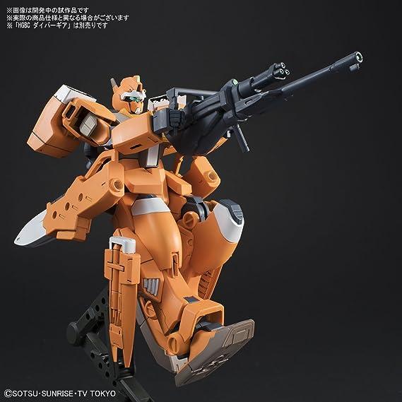 HG BF Build Divers Gundam GM III Beam Master 1//144 model kit Bandai 002