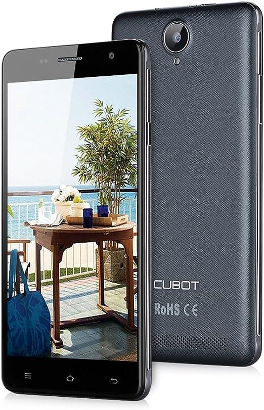 CUBOT H1 - Smartphone Libre Android 4G (Pantalla 5.5