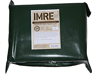 New CZECH 24 HOUR MRE Army Ration Meal Ready To Eat Emergency Food Supplies Genuine RCIR (Menu 5)