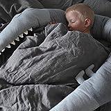 Crib Bumper, Creative Crocodile Plush Pillows
