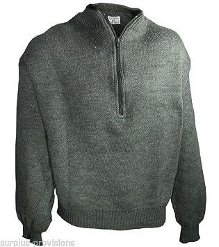 f19891c1b84 Onermade Brand New Swiss Army Wool Sweater Choice of Sizes Military Surplus   SL2854
