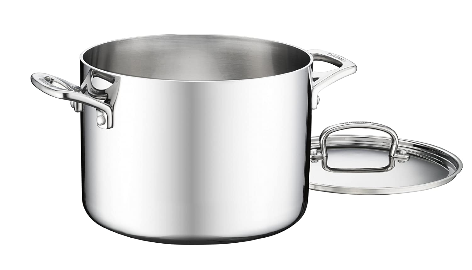 6-Quart Cuisinart FCT1113-18 French Classic Tri-Ply Stainless 3-Piece Saucepan and Double Boiler Set