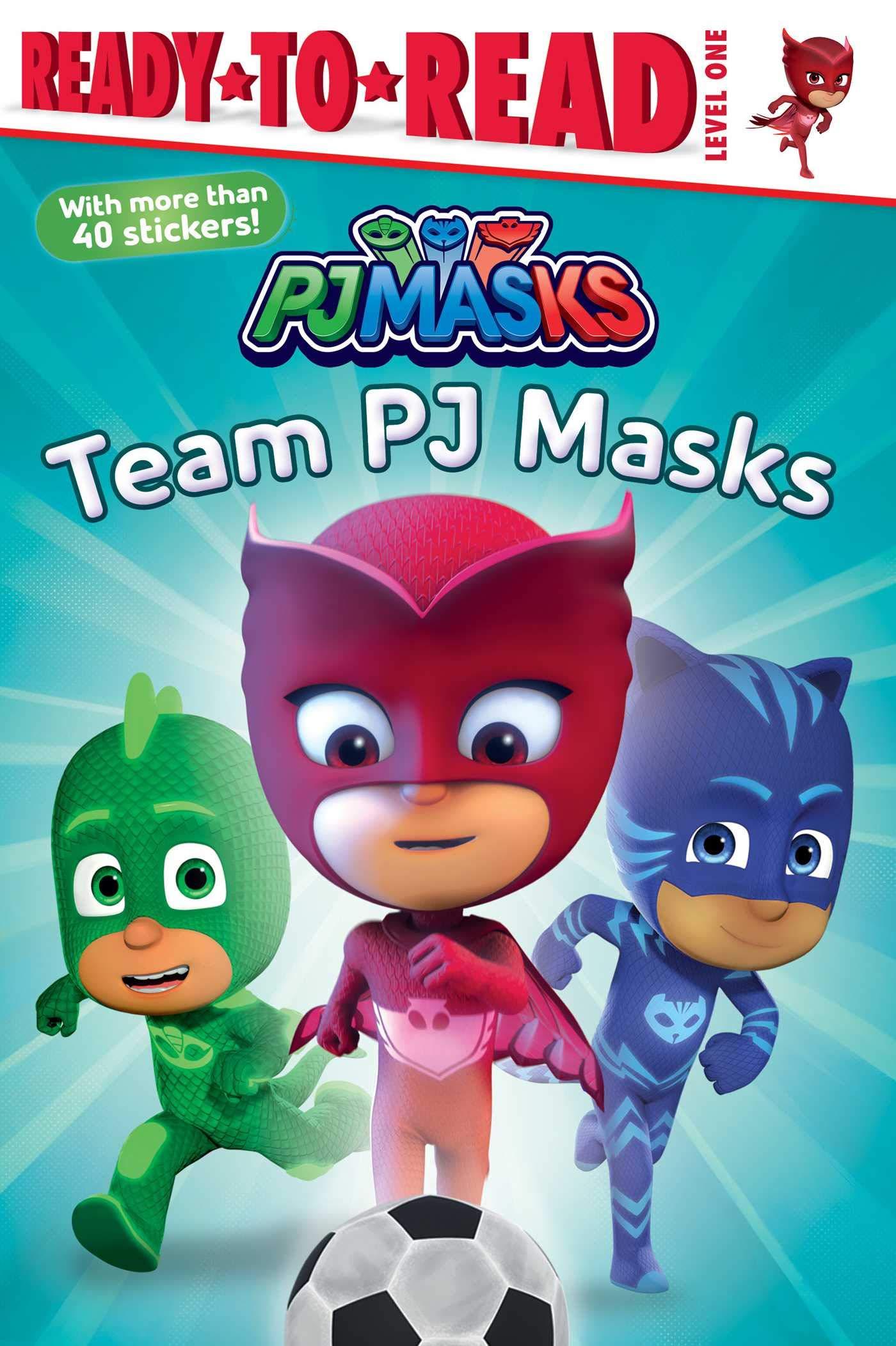 Team PJ Masks: Ready-To-Read Level 1 : Nakamura, May: Amazon ...