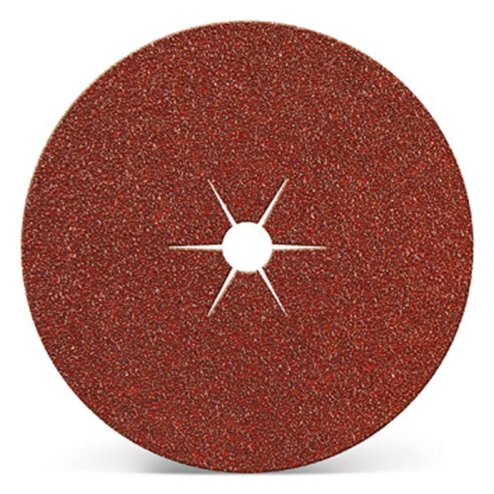 Kivec IMP3164-Disque Abrasif pour ponceuse /ø 127 mm Grain 80. vous 10 trou central