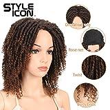 "Style Icon 6"" Short Dreadlock Wig Twist Wigs for"
