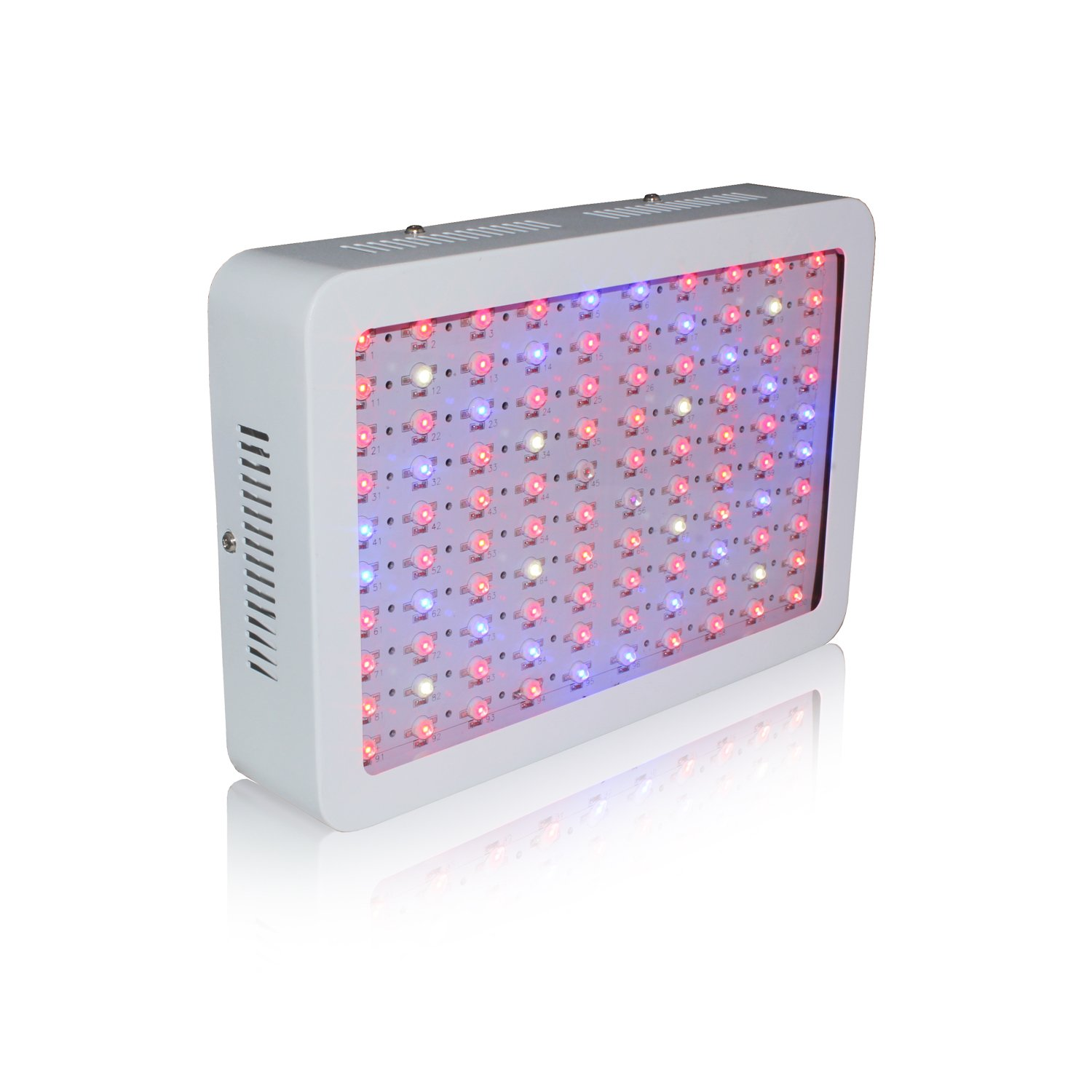 RYSA LIGHT LED Indoor Grow Light 1000W Full Spectrum Double Chips Growing Lamps with UV IR for Garden Plants Veg Flower Hydroponic Greenhouse by RYSA LIGHT (Image #5)