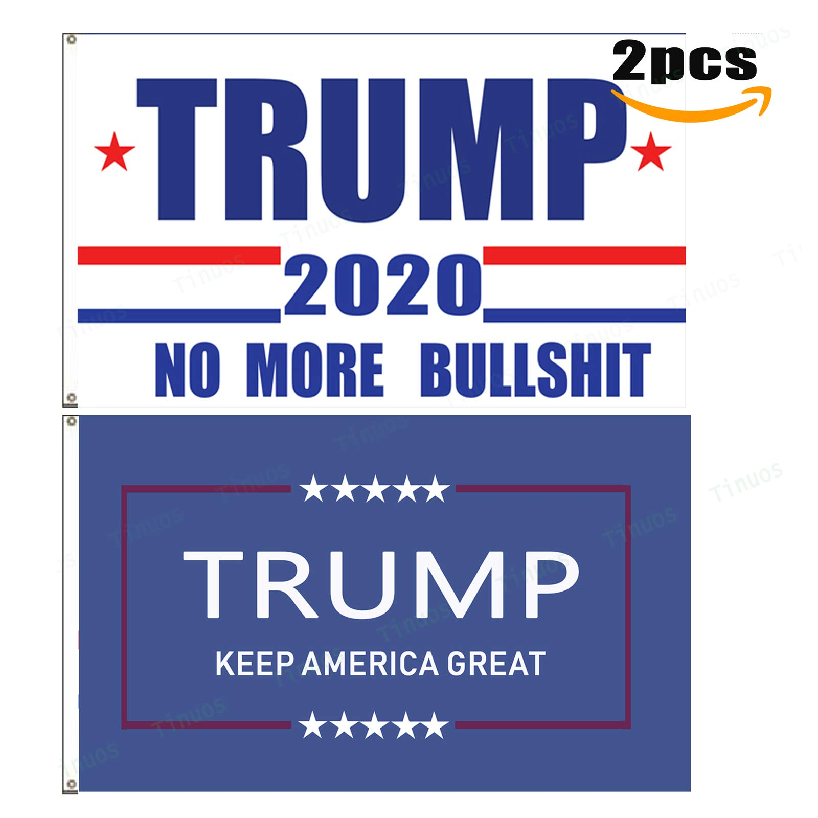 Tinuos Trump Flag-Donald Trump Flag-Trump president flag-Donald Trump president flag-2PCs