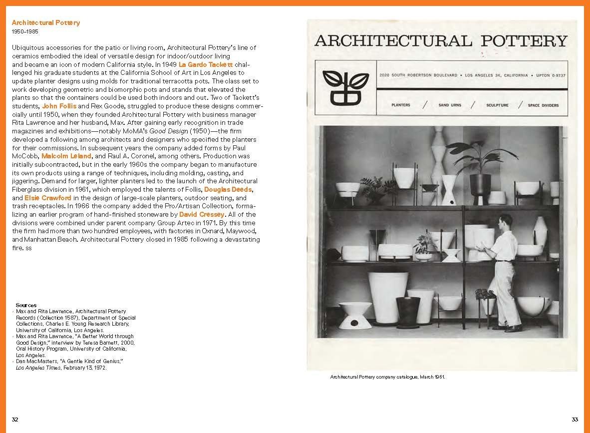 Amazon com: A Handbook of California Design, 1930–1965: Craftspeople