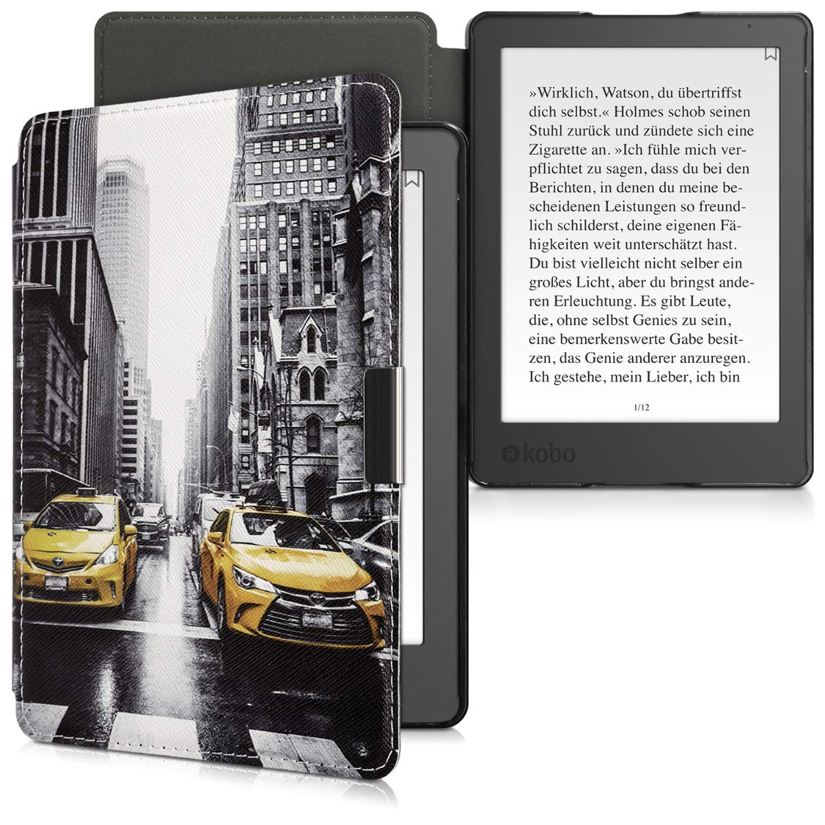kwmobile Funda para Kobo Aura Edition 2: Amazon.es: Electrónica