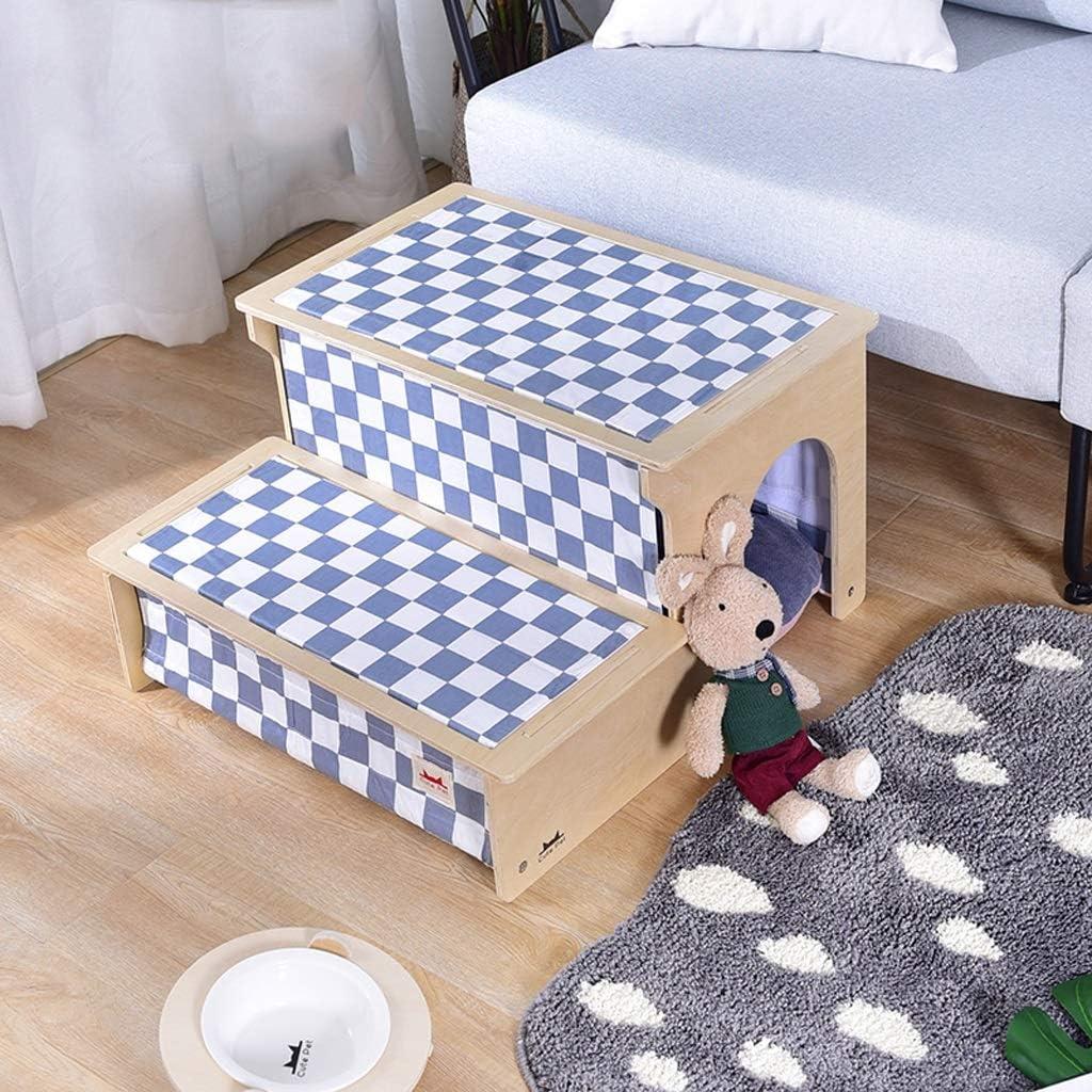 ベッドの梯子の上のペット階段子犬、洗える大きい犬の梯子小さい犬のパッドステップ