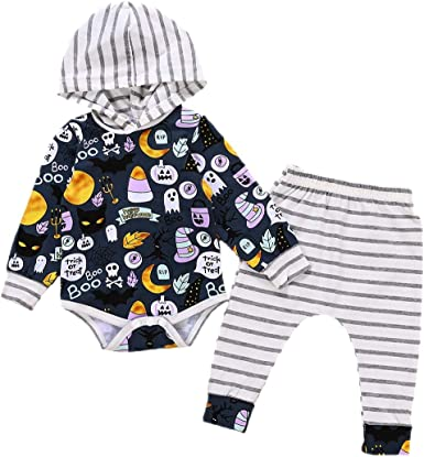 Pants hailouhai Newborn Baby Cute Boy Girl Hello World Long Sleeve Outfits Romper Bow Headband Hat 4 Pcs Clothes Sets